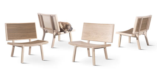 Smile: Sorri Lounge Chair by Gonçalo Campos in home furnishings  Category