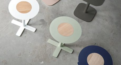 Blush Tables by Spell