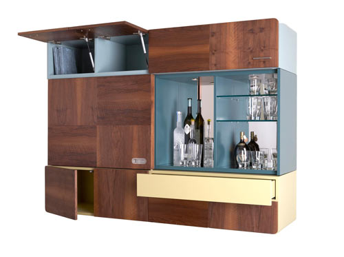 Clever Storage Furniture from Think Fabricate in main home furnishings  Category