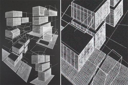 Architectural Artwork by Ben Kafton