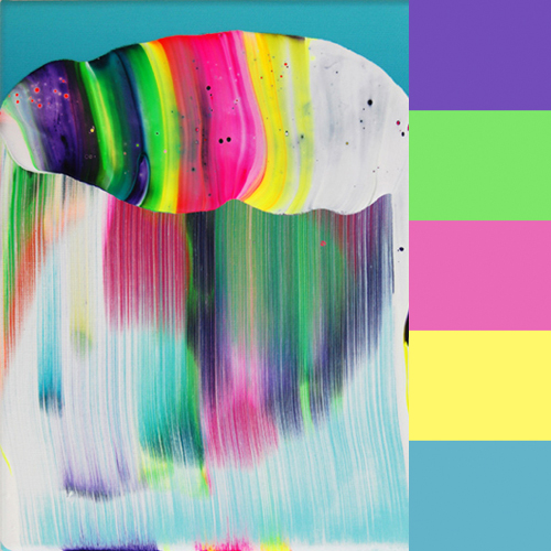 Yago Hortal's Abstract Paintings