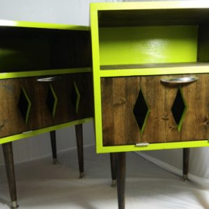 OrWa Design's Lime Zing Nightstand