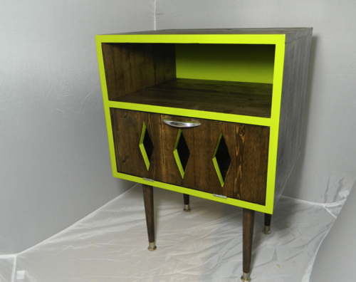 OrWa Designs Lime Zing Nightstand in main home furnishings  Category