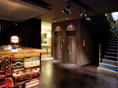 Destination Design: Chic & Basic Ramblas Hotel in interior design featured architecture Category