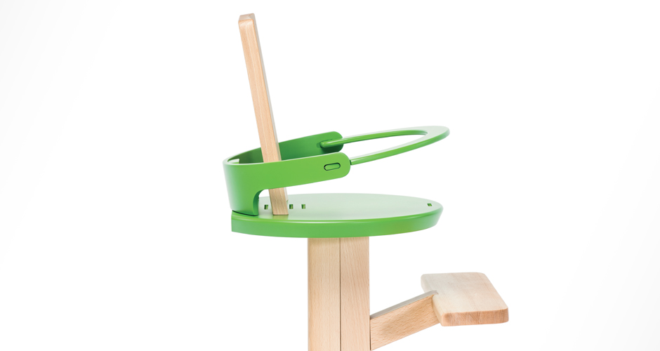 Froc Adjustable Modern High Chair