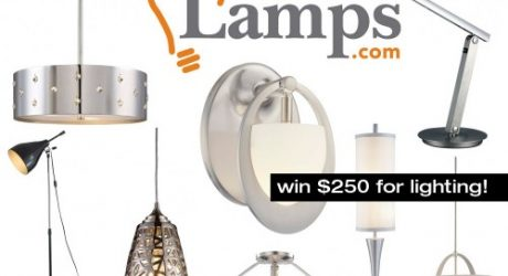 Lamps.com $250 Lighting Giveaway