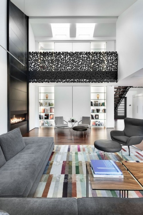 Open Concept Interior Architecture Ideas: 12 Mezzanines - Design Milk