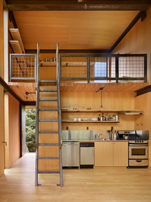 Wooden Lofts Open Concept Interior Architecture Ideas 12 Mezzanines  Design Milk