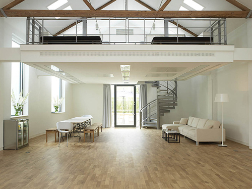 Open Concept Interior Architecture Ideas: 12 Mezzanines - Design Milk