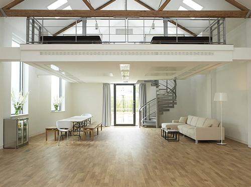 Open Concept Design Ideas top small family room open to kitchen ideas Open Concept Interior Architecture Ideas 12 Lofty Mezzanines