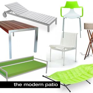Get Ready for Spring with Modern Outdoor Furniture at 2Modern