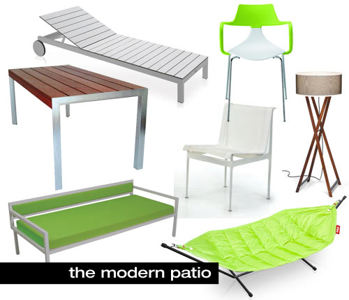 Lovely Get Ready for Spring with Modern Outdoor Furniture at Modern