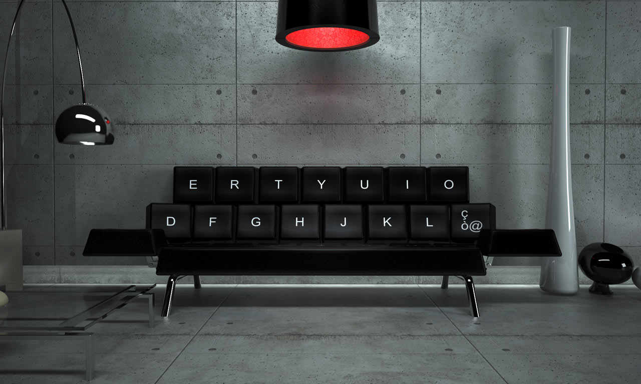 Qwerty Sofa by ZO_loft