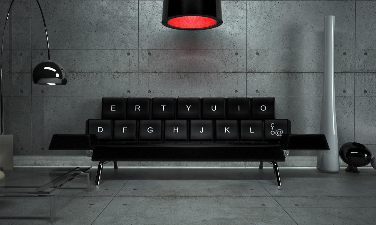 Qwerty Sofa by ZO_loft