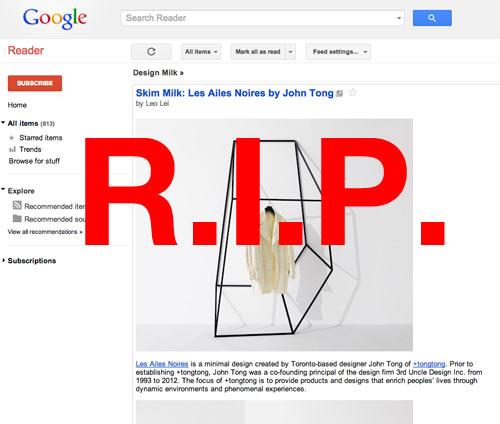 Google Reader Alternatives for Reading Design Milk