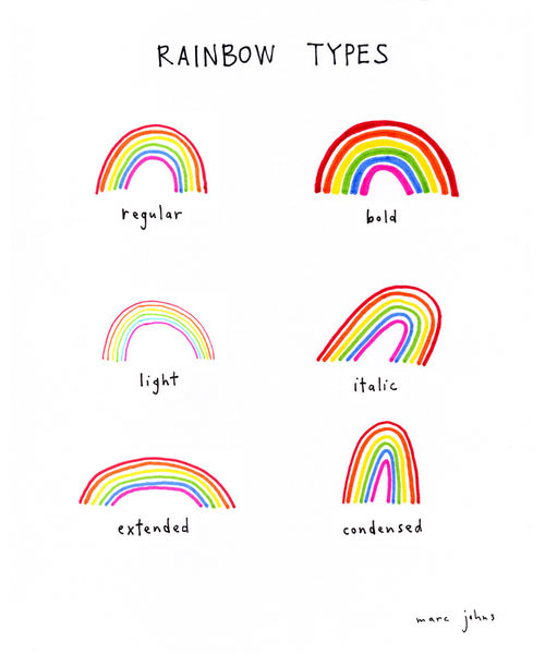 Fresh From The Dairy: Rainbows in technology main art  Category