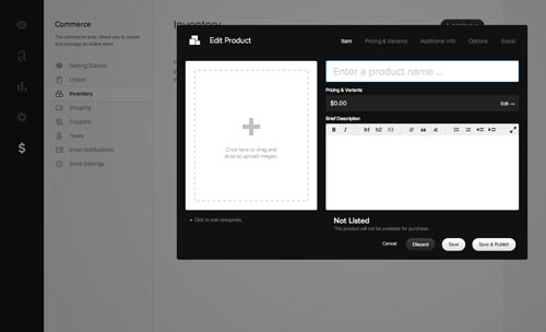how to sell tickets on squarespace