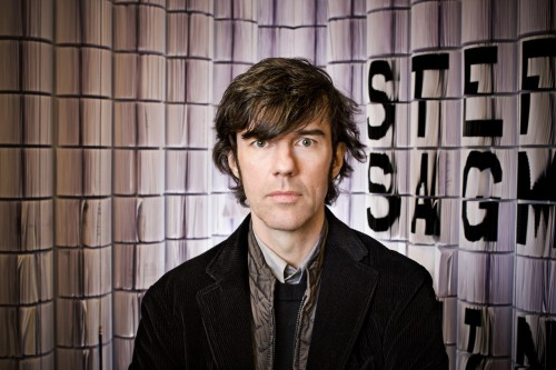 Friday Five with Stefan Sagmeister in technology main home furnishings  Category