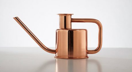Paul Loebach + Kontextür Design Sleek Watering Can, Plants Everywhere Rejoice