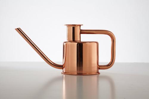 Paul Loebach + Kontextür Design Sleek Watering Can, Plants Everywhere Rejoice