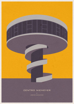 Iconic Architecture Poster Series by André Chiote