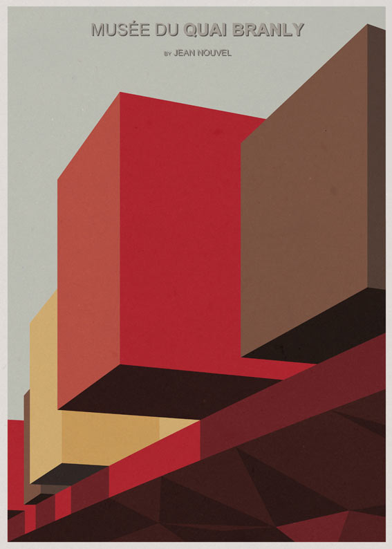 Iconic Architecture Poster Series by André Chiote in main art architecture  Category