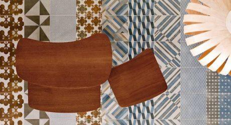 Azulej Tile Collection by Patricia Urquiola for Ramacieri Soligo