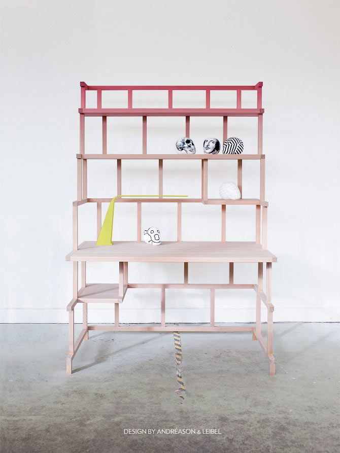 Collapsible Desk by Andréason & Leibal
