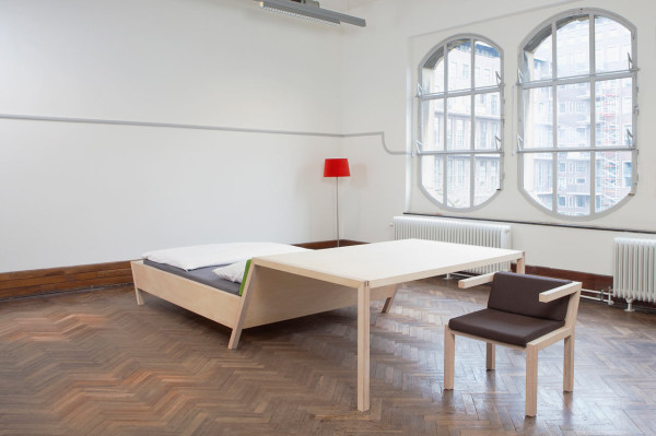 Small Space Solution: BednTable by Erik Griffioen in main home furnishings  Category