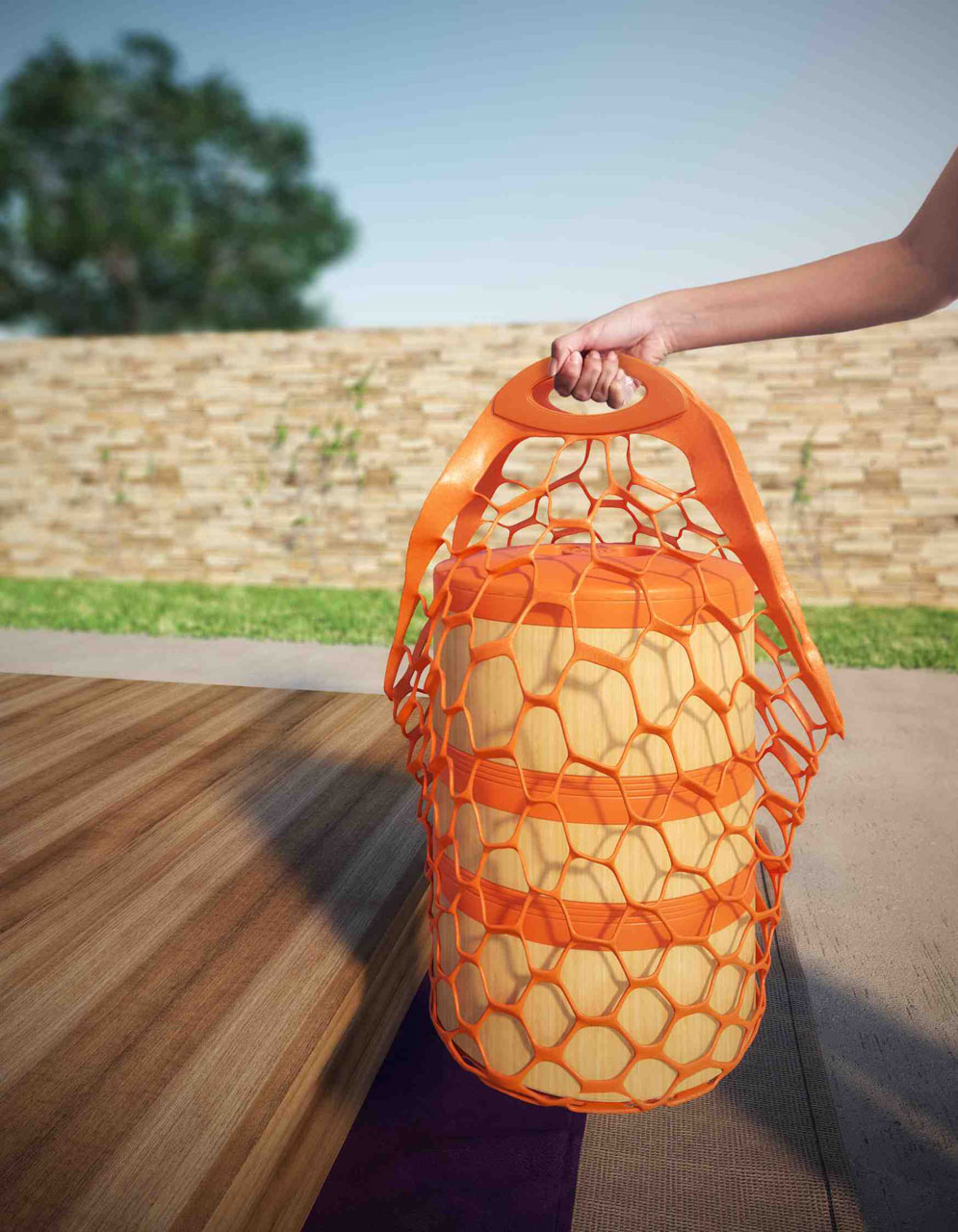 Combine: An Eco-Chic Picnic Set from Bold_a design company