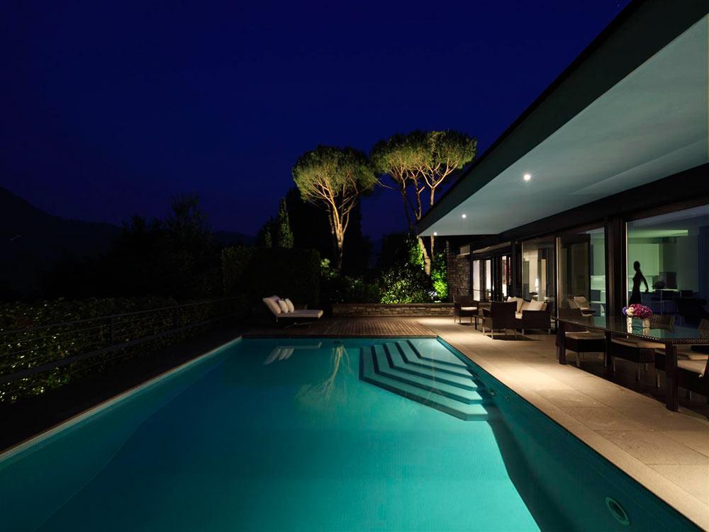 Modern Swiss Villa by Bruno Klauser