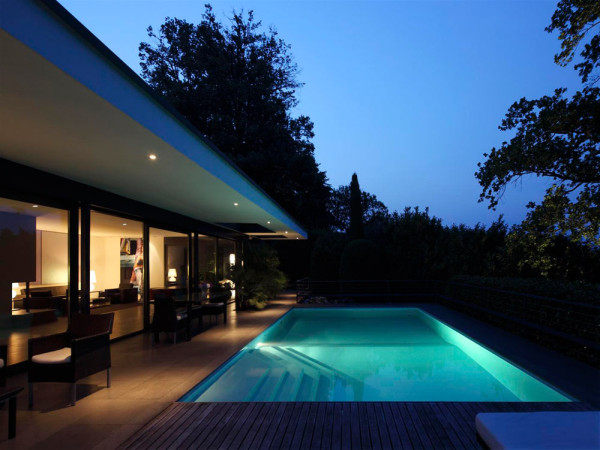 Modern Swiss Villa by Bruno Klauser in main architecture  Category