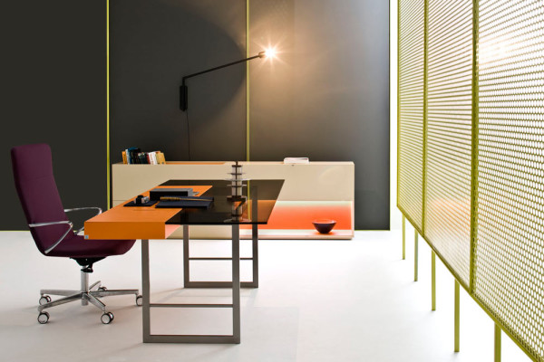 Modern office furniture from castelli design milk for Well designed office spaces