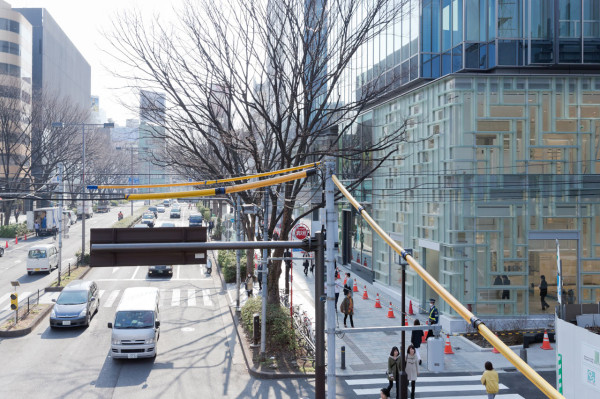 Coach Flagship Store in Tokyo by OMA in main interior design architecture  Category