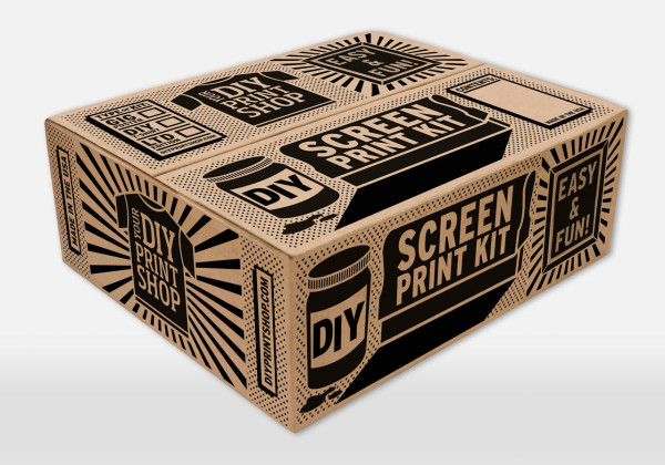 DIY Screen Printing Kits From DIY Print Shop in style fashion art Category
