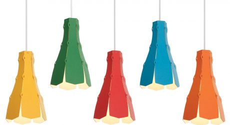 Color Pop: Lily Lampshade by Desinature