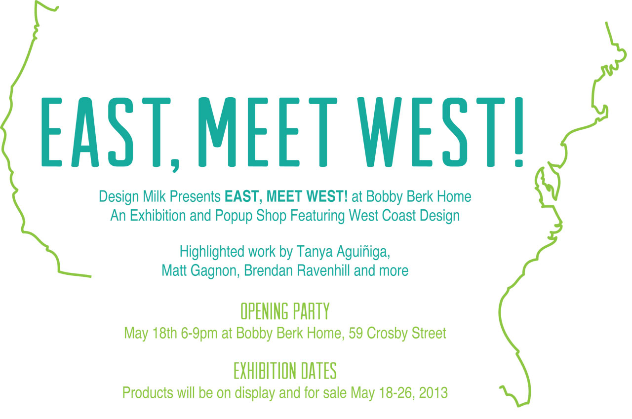 Design Milk Presents East, Meet West! At Bobby Berk Home
