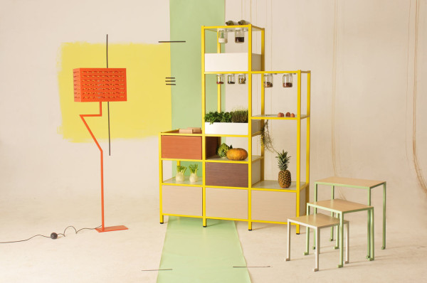 Food Pyramid Storage + Other Furniture by FridayProject