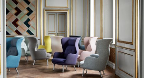 Ro: An Easy Chair by Jaime Hayon for Fritz Hansen