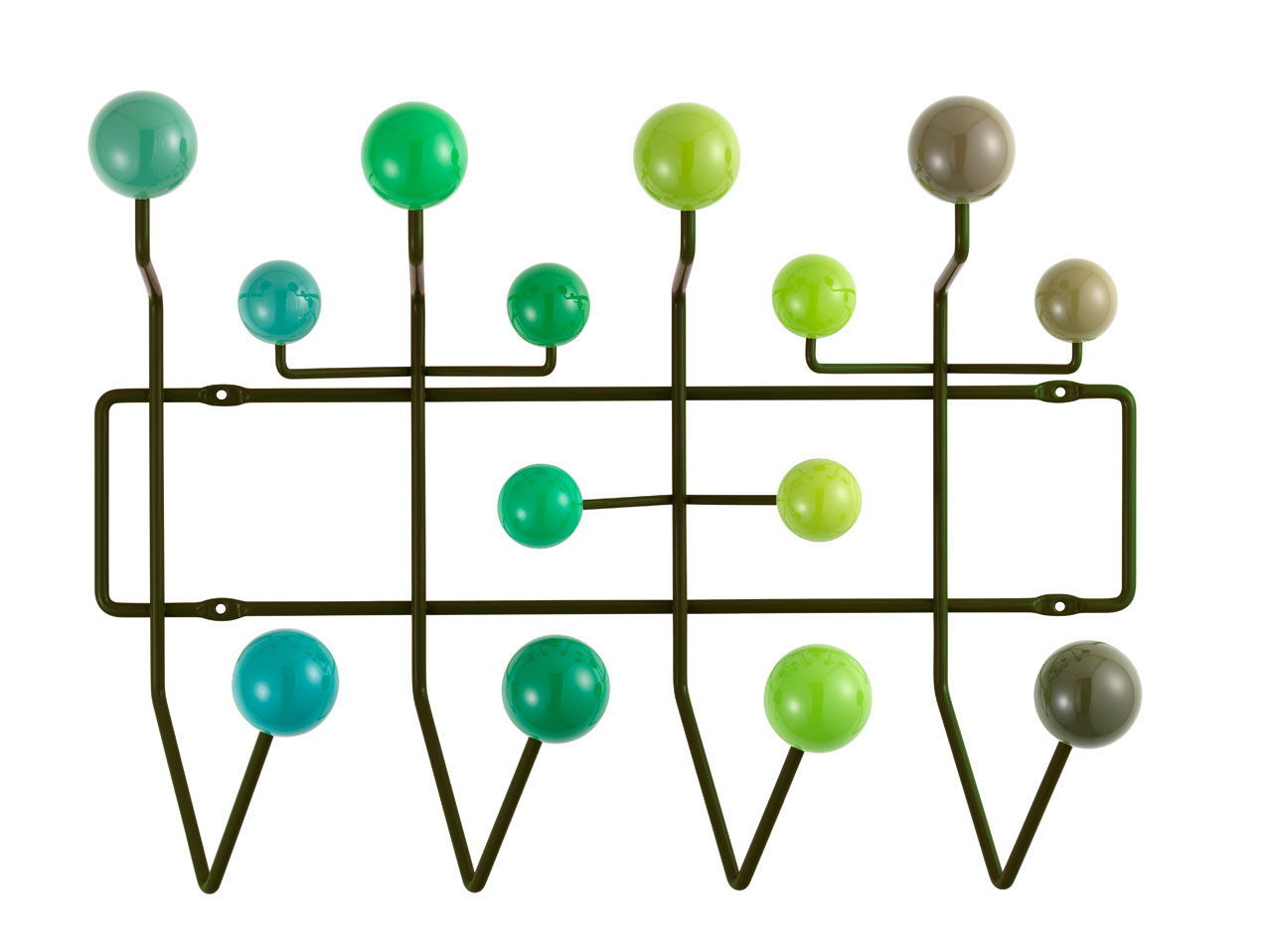 Happy Birthday, Ray! Eames Hang-It-All: New Colors