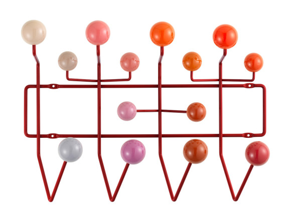 Happy Birthday, Ray! Eames Hang It All: New Colors in main home furnishings  Category