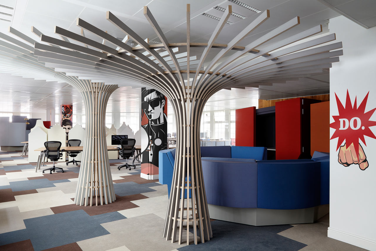 An Ad Agency\'s Seriously Surprising New Office Space - Design Milk