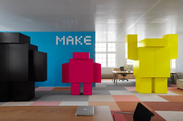An Ad Agencys Seriously Surprising New Office Space  Design Milk