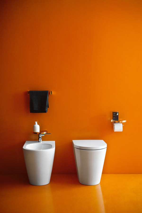 Kartell by Laufen: Bathroom Collection by Ludovica + Roberto Palomba in main home furnishings  Category