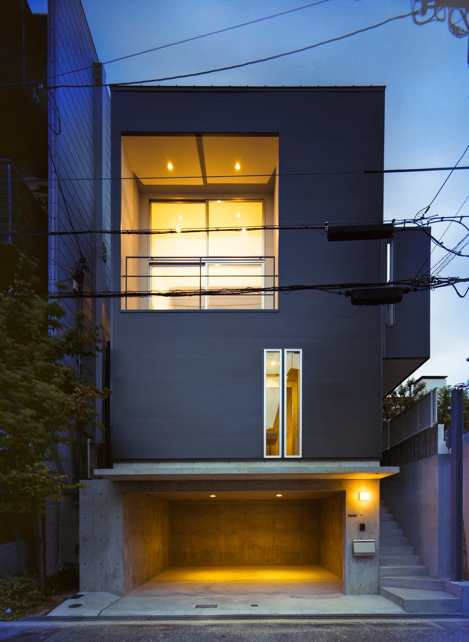 Smart Small Space Design House in Konan by Coo Planning Design Milk