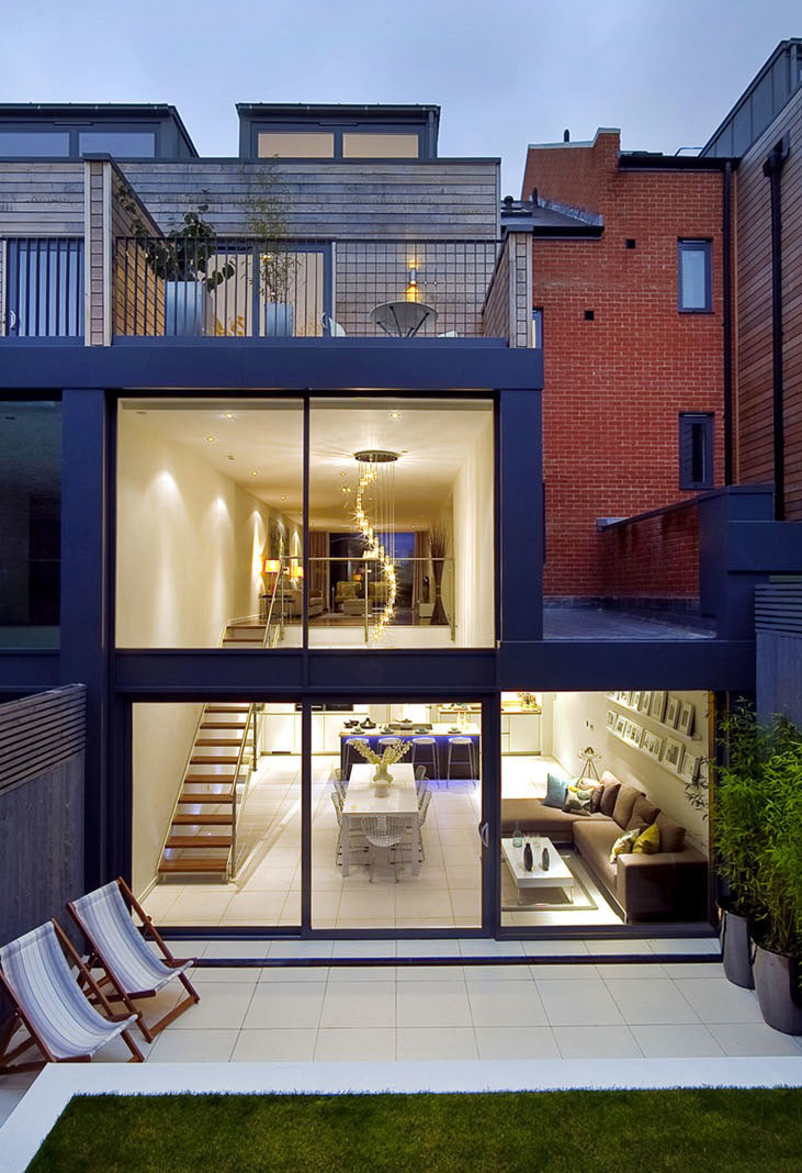North London Townhouse Interior Design by LLI Design