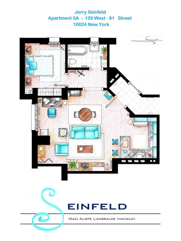 48 Of Our Favorite TV Shows Home Apartment Floor Plans Design Milk Magnificent Apartment Floor Plan Design