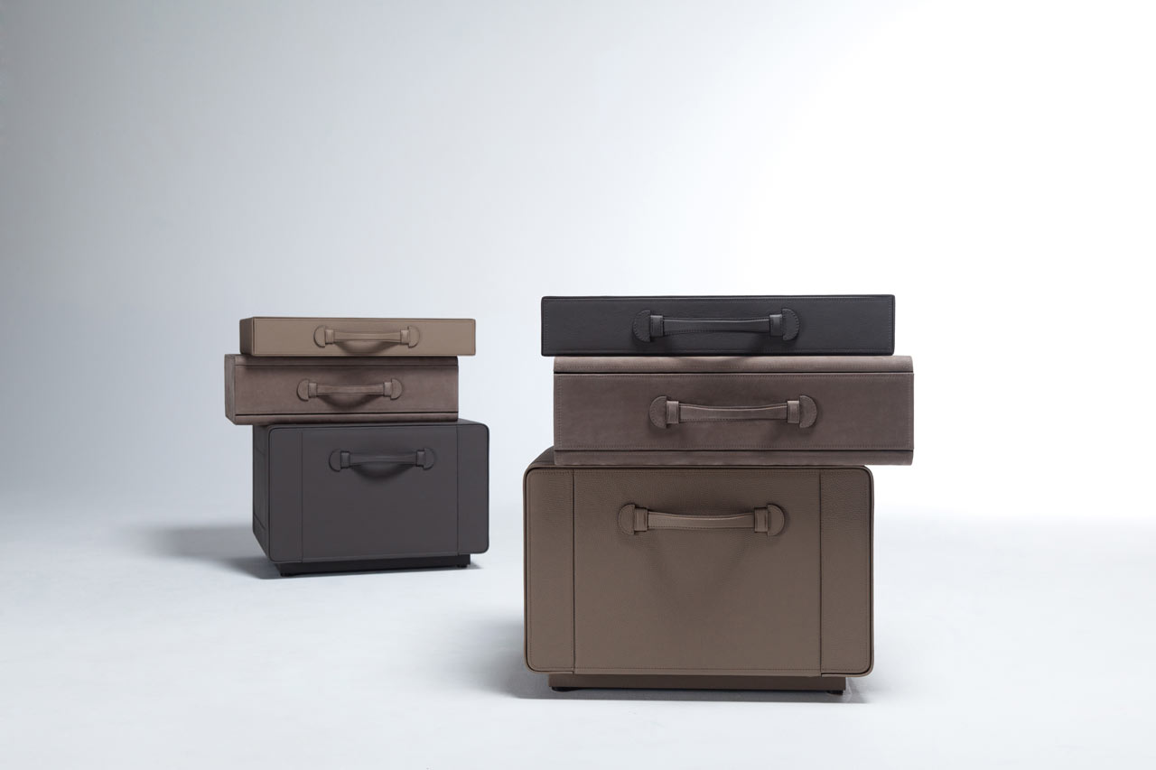 Maarten-De-Ceulaer-Suitcases-furniture-brown