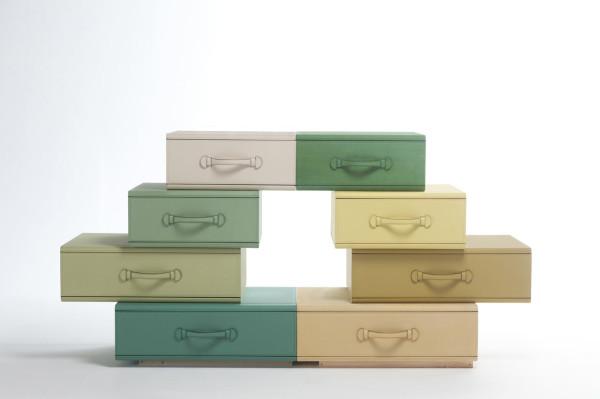 Maarten-De-Ceulaer-Suitcases-furniture-chest-drawers-art