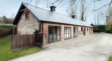 Old Horse Stables Become a Modern Home with Character